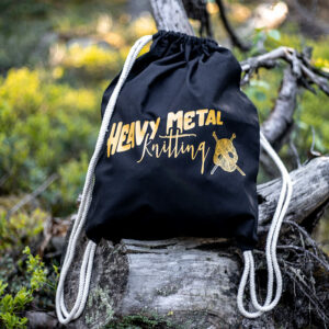 Heavy Metal Knitting - Project Bag