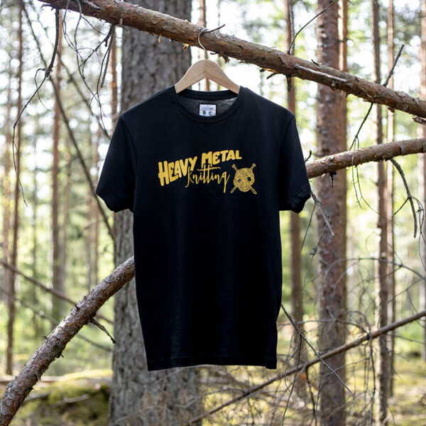 Heavy Metal Knitting - T-shirt