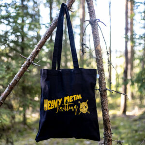Heavy Metal Knitting - Tote Bag